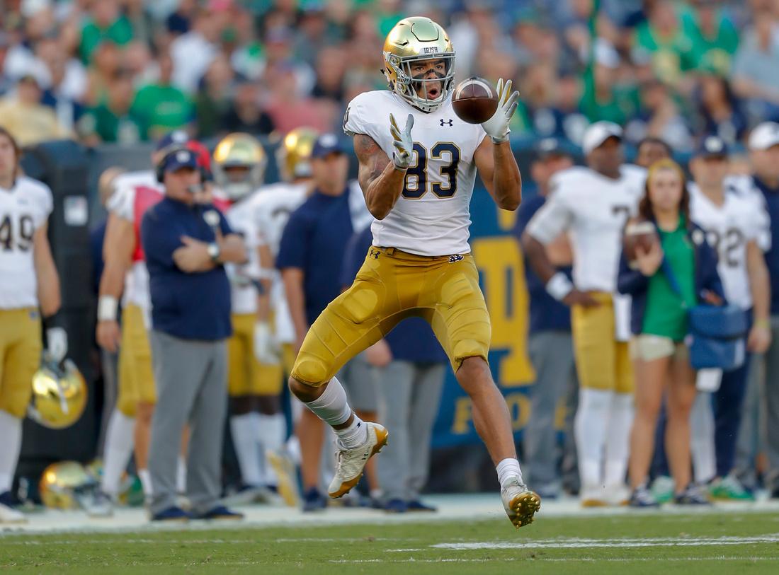 NCAA Football 2018: Notre Dame vs Navy OCT 27