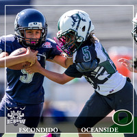 10.15.2016 Pee Wee - Savage Wolves vs Oceanside