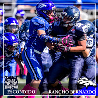 10.08.2016 - Pee Wee Savage Wolves vs Rancho Bernardo