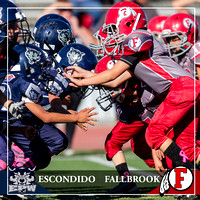 10.08.2016 - Jr. Mitey Mite - Escondido vs Fallbrook
